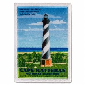 Retro Cape Hatteras Light Station Patch