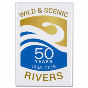 Wild and Scenic Rivers 50th Anniversary Magnet