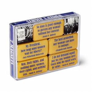 Women's Rights Mini Magnet Set