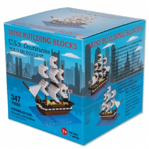 USS Constitution Mini Blocks
