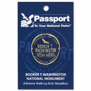 Booker T Washington Passport Hiking Medallion