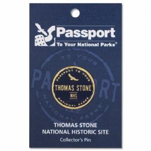 Thomas Stone Passport Pin