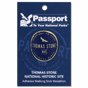 Thomas Stone Passport Hiking Medallion
