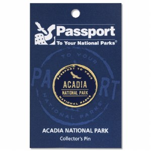 Acadia Passport Pin