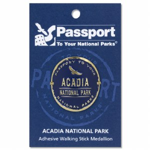 Acadia Passport Hiking Medallion