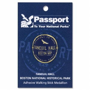Faneuil Hall Passport Hiking Medallion
