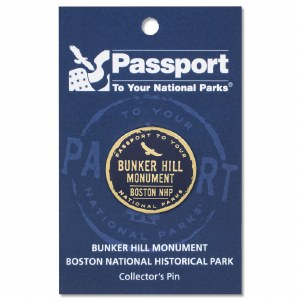 Bunker Hill Passport Pin