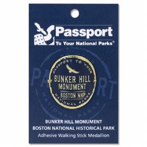Bunker Hill Passport Hiking Medallion