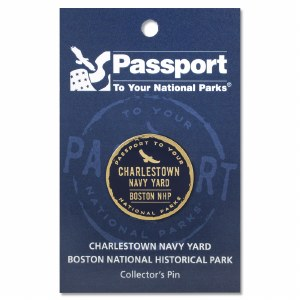 Charlestown Navy Yard Passport Pin