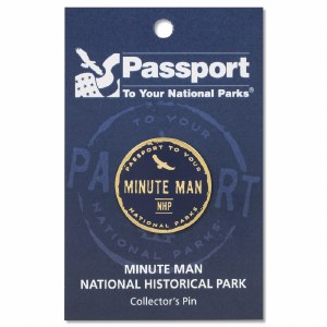 Minute Man Passport Pin