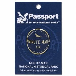 Minute Man Passport Hiking Medallion
