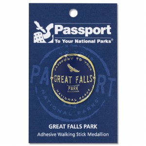 Great Falls Passport Hiking Medallion