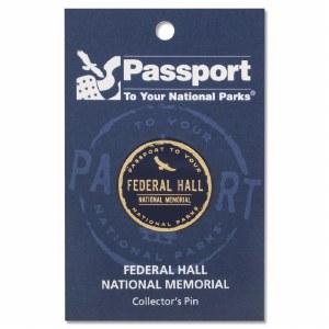 Federal Hall Passport Pin