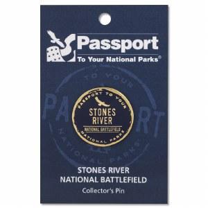 Stones River Passport Pin