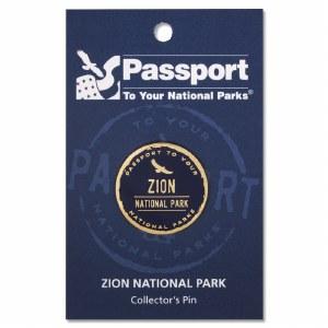 Passport Pin Zion