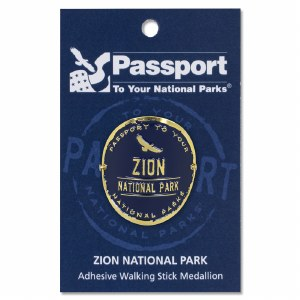 Zion Passport Hiking Medallion