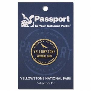 Passport Pin Yellowstone