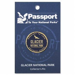 Glacier Passport Pin