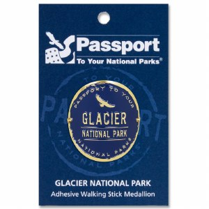 Glacier Passport Hiking Medallion