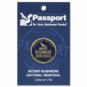 Passport Pin Mount Rushmore