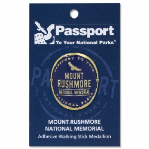 Mount Rushmore Passport Hiking Medallion
