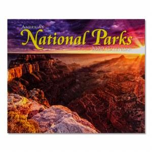 America's National Parks 2020 Calendar
