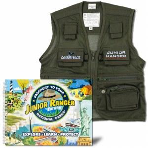 Junior Ranger Passport & Vest