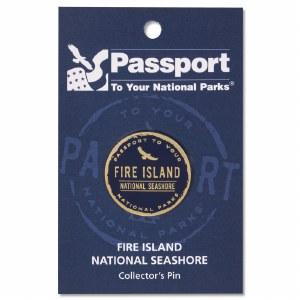Fire Island Passport Pin