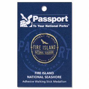 Fire Island Passport Hiking Medallion