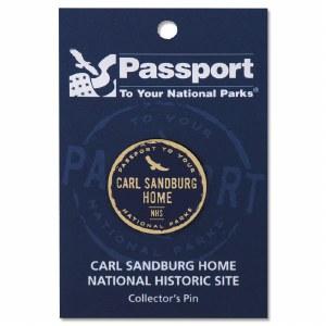 Carl Sandburg Passport Pin