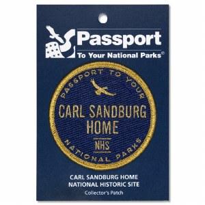 Carl Sandburg Passport Patch
