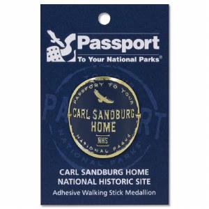 Carl Sandburg Passport Hiking Medallion