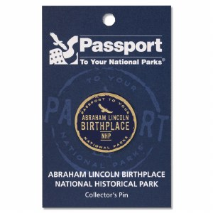 Passport Pin Abraham Lincoln Birthplace