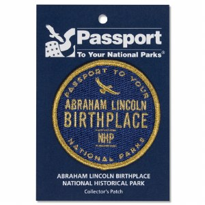 Lincoln Birthplace Passport Patch