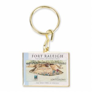 Fort Raleigh Lost Colony Keychain