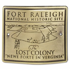 Fort Raleigh Lost Colony Hiking Medallion