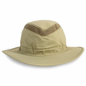 Outdoors Tan Mesh Hat