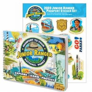 Junior Ranger Passport and 2020 Junior Ranger Sticker Set