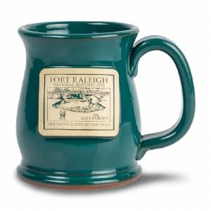Fort Raleigh Teal Mug