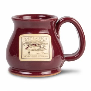 Fort Raleigh Mulberry Mug