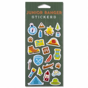 Junior Ranger Puffy Stickers