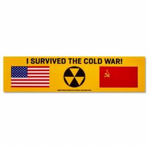 I Survived the Cold War! Bumper Sticker