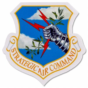 Strategic Air Command Sticker
