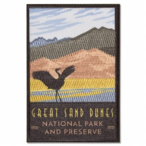 Great Sand Dunes Trailblazer Patch