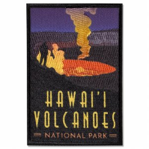 Hawaii Volcanoes Trailblazer Patch