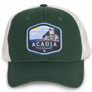 Acadia Net Back Cap