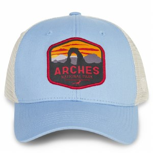 Arches Net Back Cap