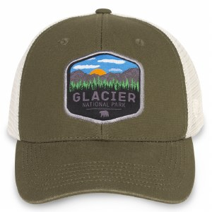Glacier Net back Cap