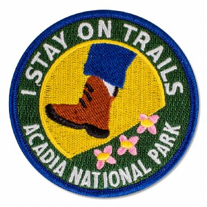 I Stay On Trails Patch