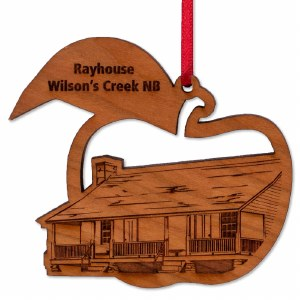 Ray House Wooden Ornament